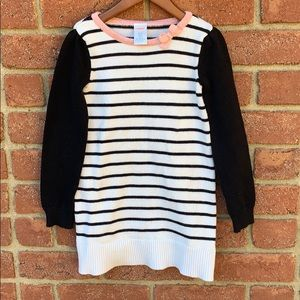 Gymboree sweater dress to wear with leggings